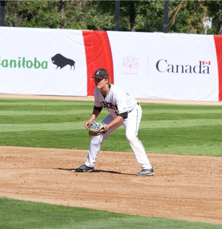 Justin Breen was the first player from the Fort McMurray baseball program selected to play in Tournament 12.