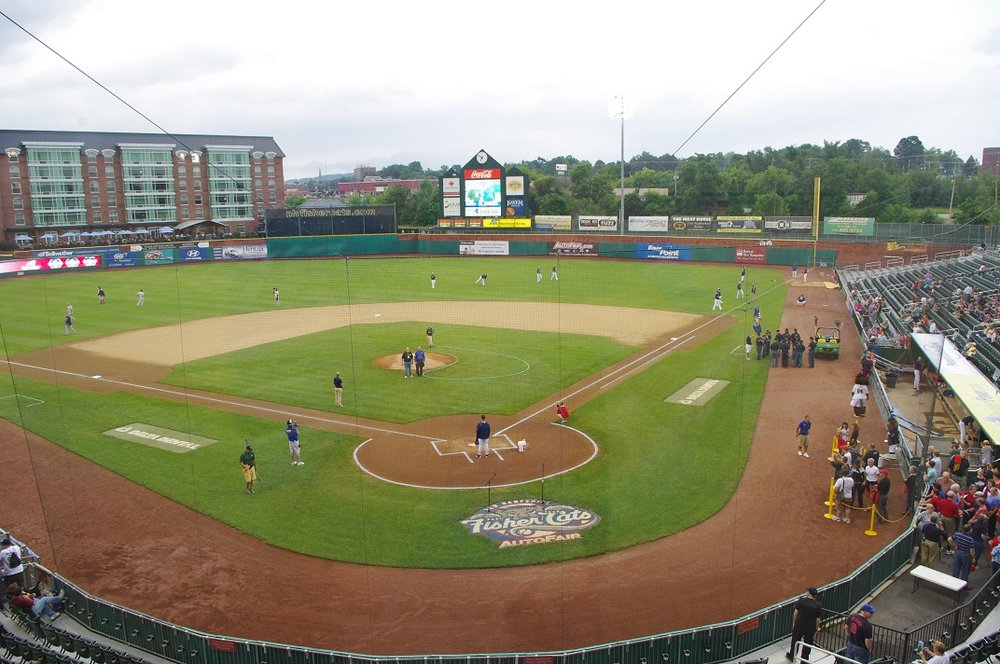 The double-A affiliate New Hampshire Fisher Cats, who play in Northeast Delta Dental Stadium, will continue their affiliation with the Toronto Blue Jays through 2020. Photo Credit: Jay Blue