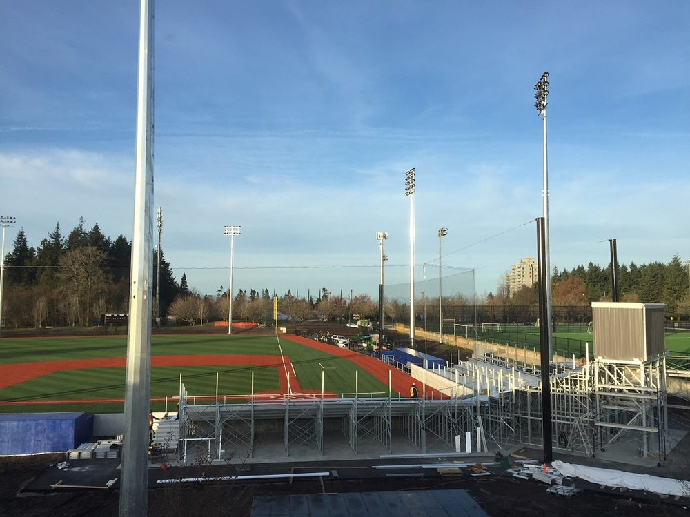 UBC Baseball Stadium readies for its home opener March 24.