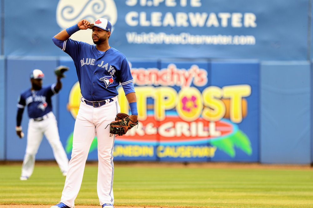 Blue Jays prospect Richard Urena started at second base and went 0-for-3 to see his Grapefruit League batting average drop to .087.