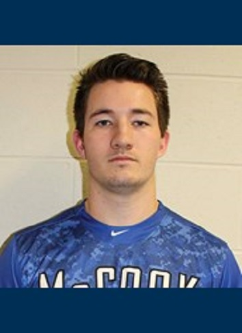 Former Hamilton Cardinals' RP Tyler Cox (Mississauga, Ont.) picked up two saves for the McCook Indians.