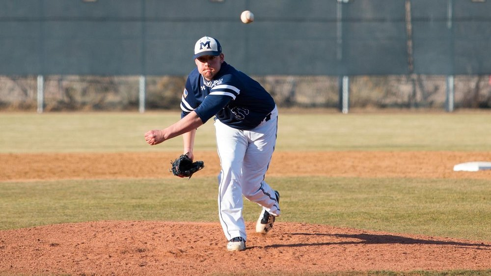 Former Ontario Blue Jays' LHP Matt Martin (Ajax, Ont.) pitched three innings for thhe Colorado School of Mines Oreriggers.