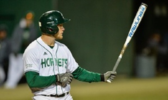 North Shore Twins' Steven Moretto (Coquitlam, BC) had five hits and dorve in five runs for the Sacramento State Hornets.