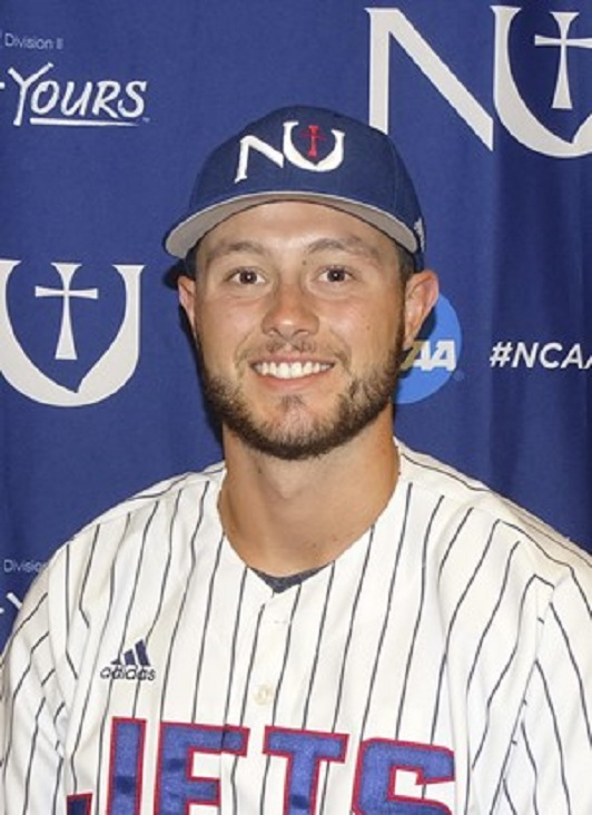 Former Ontario Blue Jays Paul Rupnik (Newmarket, Onnt.) had nine hits for the Newman Jets.