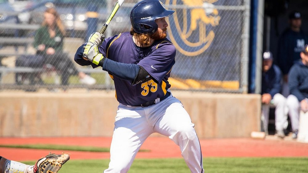 Former Ontario Terriiers INFLiam Wilson (Ayr, Ont.) had five hits and drove in a pair of runs for the Canisius Golden Griffs.