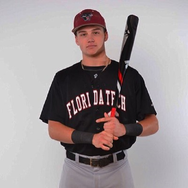 Former Ontariio Blue Jay Jakob Newton )Oakvill(, Onnt.) drove in eight runs for the Florida Tech Panthers.