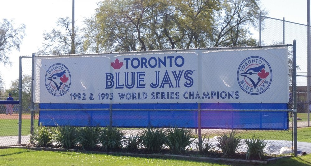 Players that will compete on all eight Toronto Blue Jays' minor league affiliates are honing their skills at the Bobby Mattick Training Center this spring.