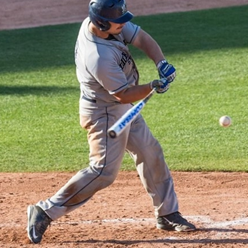 Coquitlam Reds' grad TJ McCullough (Coquitlam, BC) had five hits for the Dickinson State Blue Hens.