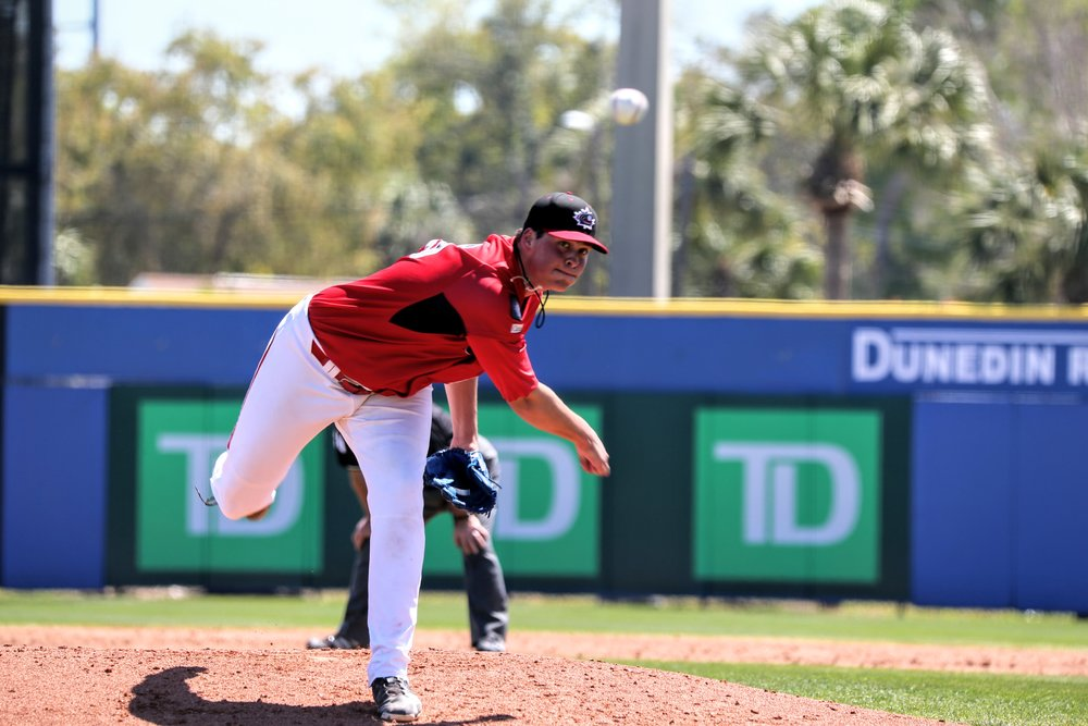 Right-hander Ben Abram (Georgetown, Ont.) started for the junior squad and allowed six runs in three innings.