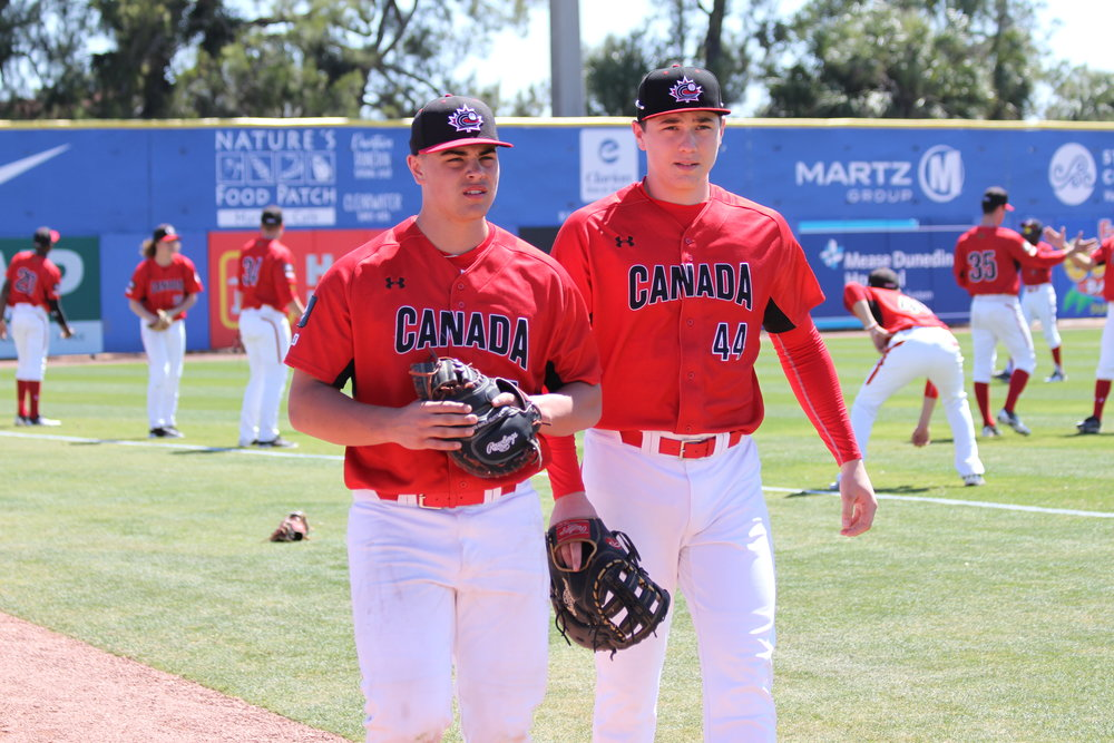 "Martin Vincelli-Simard (Boisbriand, Que.), left, and Ryan Magdic (Beamsville, Ont.) at Dunedin Stadium.         Normal     0                     false     false     false         EN-CA     X-NONE     X-NONE                                                                                                                                                                                                                                                                                                                                                                                                                                                                                                                                                                                                                                                                                                                                /* Style Definitions */  table.MsoNormalTable 	{mso-style-name:""Table Normal""; 	mso-tstyle-rowband-size:0; 	mso-tstyle-colband-size:0; 	mso-style-noshow:yes; 	mso-style-priority:99; 	mso-style-qformat:yes; 	mso-style-parent:""""; 	mso-padding-alt:0cm 5.4pt 0cm 5.4pt; 	mso-para-margin:0cm; 	mso-para-margin-bottom:.0001pt; 	mso-pagination:widow-orphan; 	mso-hyphenate:none; 	text-autospace:ideograph-other; 	font-size:11.0pt; 	font-family:""Calibri"",""sans-serif""; 	mso-ascii-font-family:Calibri; 	mso-ascii-theme-font:minor-latin; 	mso-fareast-font-family:""Times New Roman""; 	mso-fareast-theme-font:minor-fareast; 	mso-hansi-font-family:Calibri; 	mso-hansi-theme-font:minor-latin; 	mso-bidi-font-family:""Times New Roman""; 	mso-bidi-theme-font:minor-bidi;}"