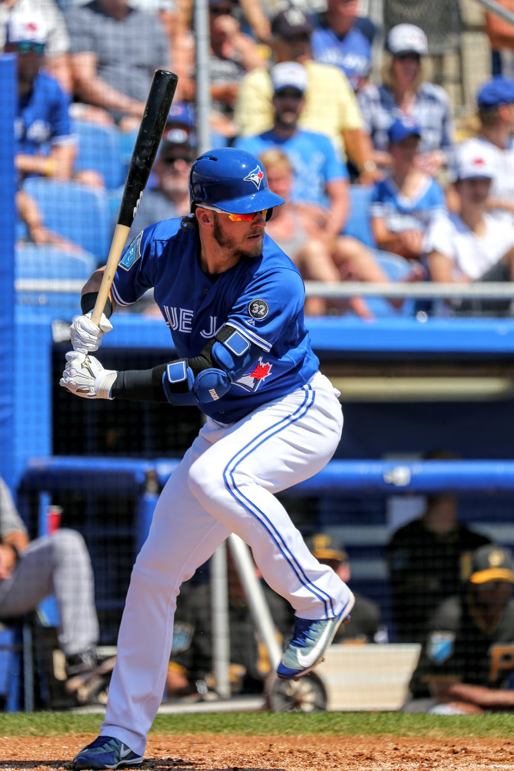 Josh Donaldson batted third and went 0-for-2.