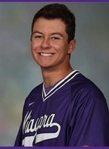 Former Ontario Prospects' RHP Kyle Smyth (Whitby, Ont.) tossed two scoreless for the Niagara Purple Eagles.