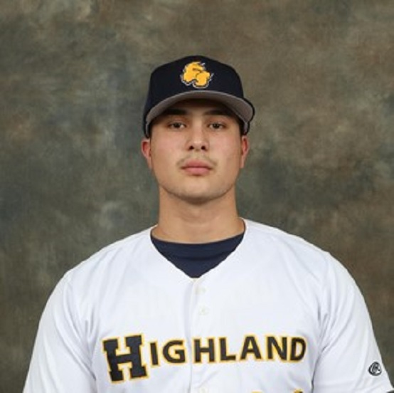 Brampton Royals grad Christopher Procopio (Toronto,  Ont.) hit .272 for the highland Scotties.