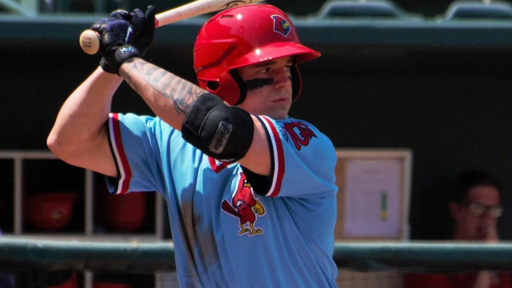 Slugger Tyler O'Neill (Maple Ridge, B.C.) is one of the St. Louis Cardinals' top prospects. Photo Credit: Memphis Redbirds