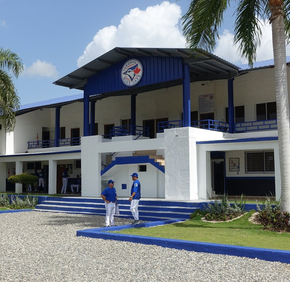The Toronto Blue Jays' Dominican Summer League facility. Photo Credit: Pierre Lacasse