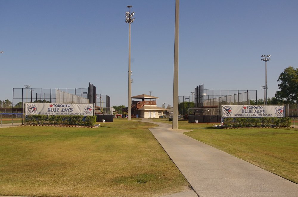 The Gulf Coast League Blue Jays play at the Bobby Mattick Training Center in Dunedin, Fla. Photo Credit: Jay Blue