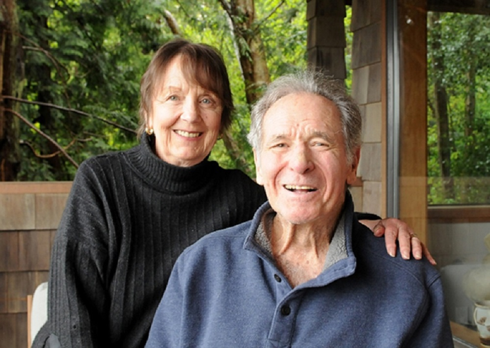 The late Wayne Norton with his wife Trudith