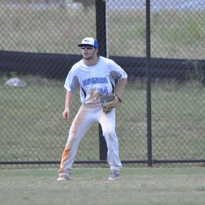 Former Ontario Terrierr Zarley Cina (Kitchener, Ont.) had five hits and drove in a pair of runs for East Stroudsburg