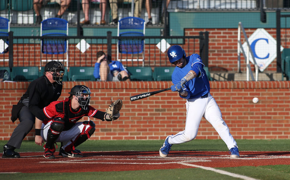 Kole Cottam, whose father John Cottam hails from Burlington, Ont. set a home run record in Kentucky's loss to Alabama.