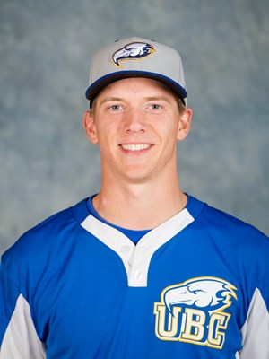 Former Whalley  Chief Braeden Allemann (Surrey, BC) threw 6 1/3 scoreless innings for the UBC Thunderbirds.
