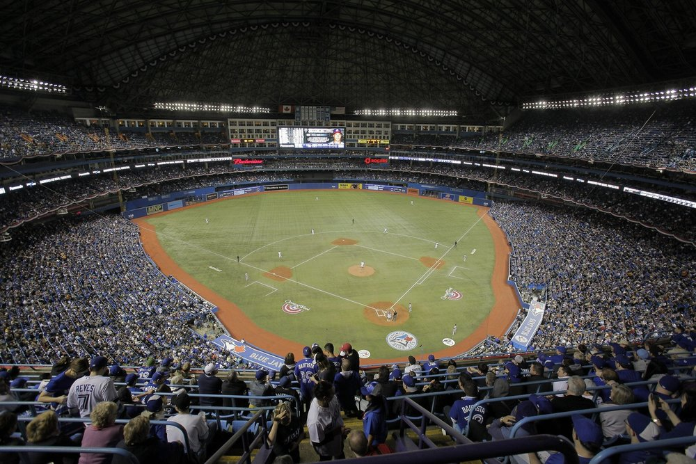 Packed houses like this one might not be as common at the Rogers Centre for the Toronto Blue Jays this season unless they can show fans they're a legitimate contender.