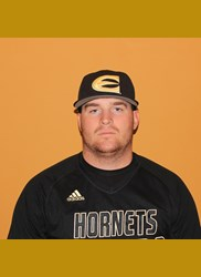 Regina Cougars' Connor Burns (St. Albert, Alta.) pitched 2 2/3 scorless for the Emporia State Hornets.