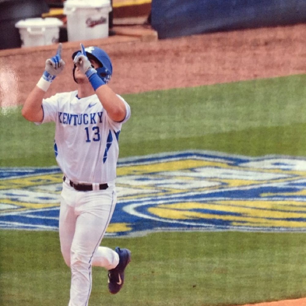Knoxville Tenn.'s Kole Cottam, whoose father is from Burlington, Ont., had nine hits, two homers while batting .562 for the Kentucky Wildcats.