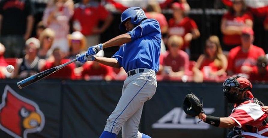 Tristaan Pompey (Mississauga, Ont.) knocked in five runs as Kentucky beat the South Carolina Gamecocks