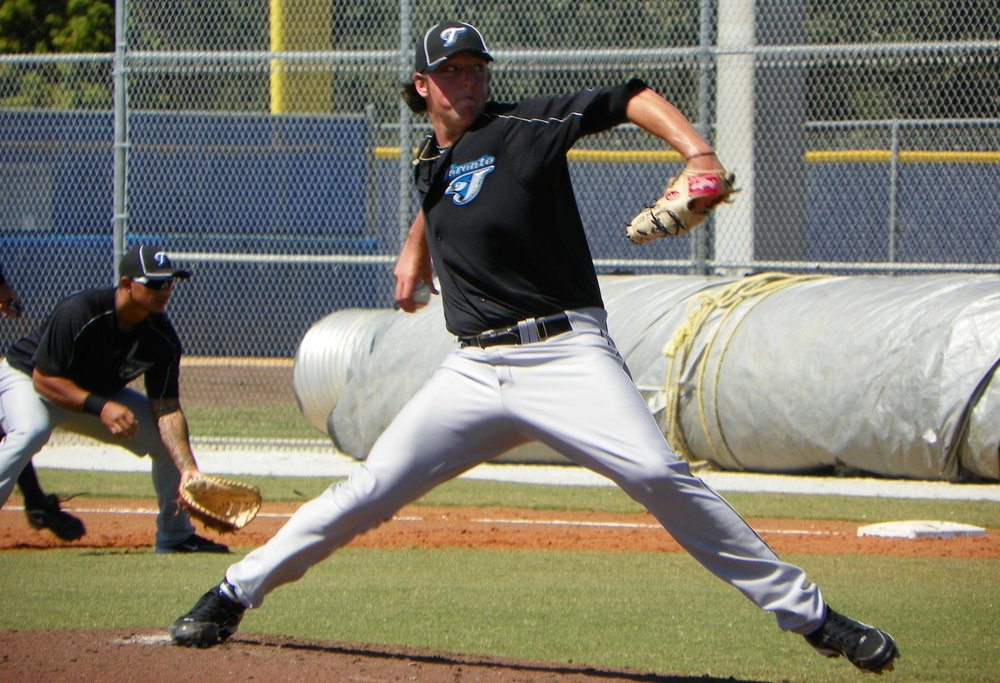 Toronto Blue Jays' 2010 first-round pick Deck McGuire re-signed with the club this past off-season is hoping to crack the big league staff in his second go-around with the team. Photo Credit: Eddie Michels