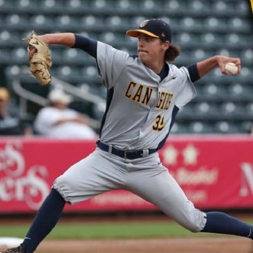 Vauxhall Academy Jets grad LHP JP Stevenson (New Glasgow, PEI) led all Canucks with 11 strikeouts for the Canisius Golden Griffins.
