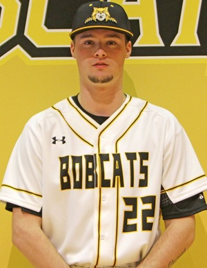 iCASE Huskies grad Brady Schnarr (Waterloo, Ont.) pitched five solid innings for the Frontier Bobcats.