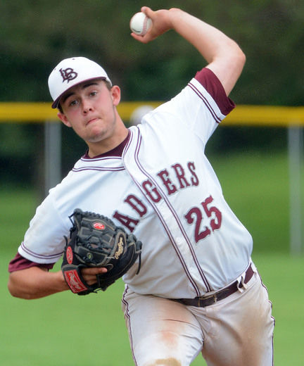 London Badgers' grad LHP Travis Keys (London, Ont.) worked five innings allowing  one run for Grand Valley Lakers.