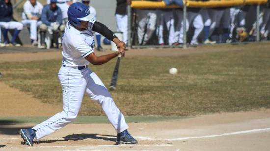 Brampton Royals' Michael Sookdeo (Brampton, Ont.) drove in three runs for the McCook Indians.