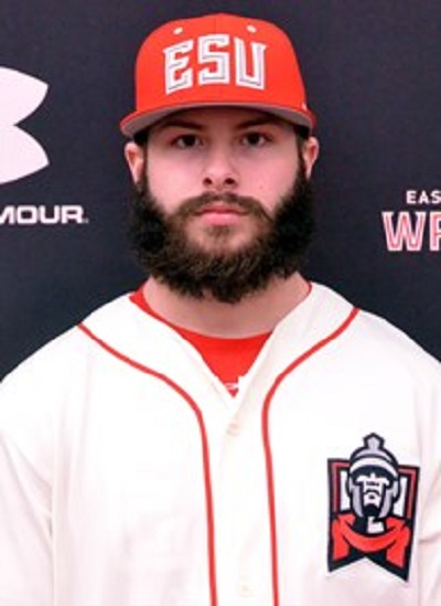 FORMER ONTARIO TERRIER ZARLEY CINA (KITCHENER, ONT.) had three hits FOR THE EAST STROUDSBURG WARRIORS.
