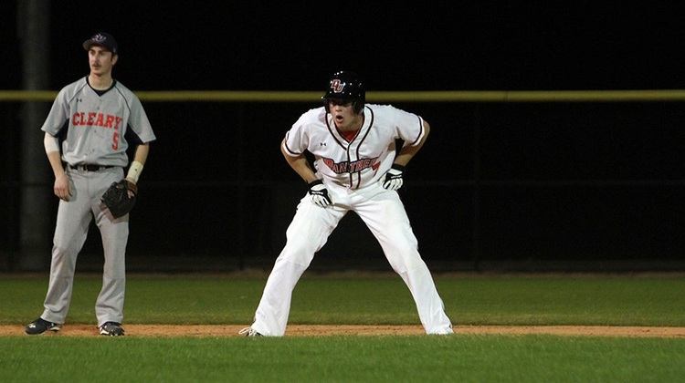 Ontario Royals grad'Zac Wilson (New Lowell, Ont.) had six hits for Davenport against Cleary.