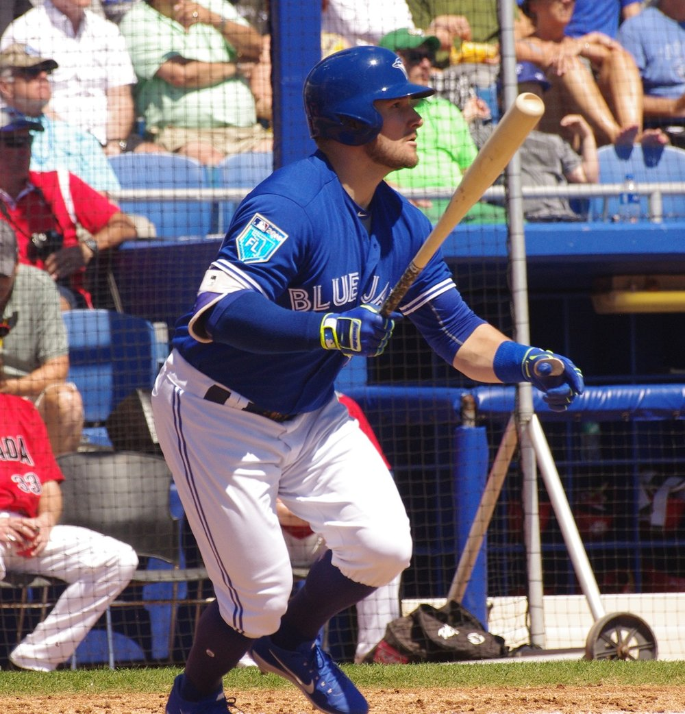 Toronto Mets alum Connor Panas (Toronto, Ont.) had three hits for the double-A New Hampshire Fisher Cats on Saturday. Photo Credit: Jay Blue