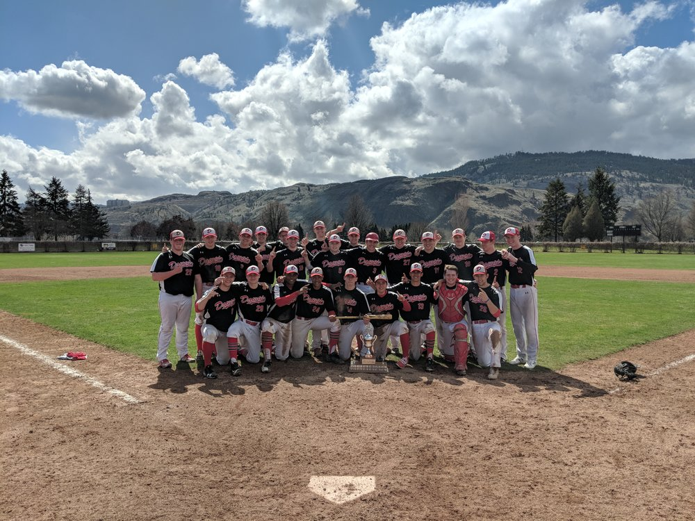 The Okotoks Dawgs 18U Midgets team (pictured above) won the prestigious Best of the West Showcase in Kamloops, B.C. on Sunday. Photo Credit: Okotoks Dawgs