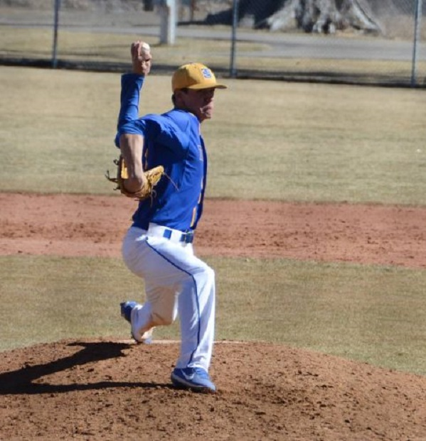 Granby Warriors' grad David Gauthier (Mt Saint Hilaire, Que.) had a two-win week for Trinidad State.