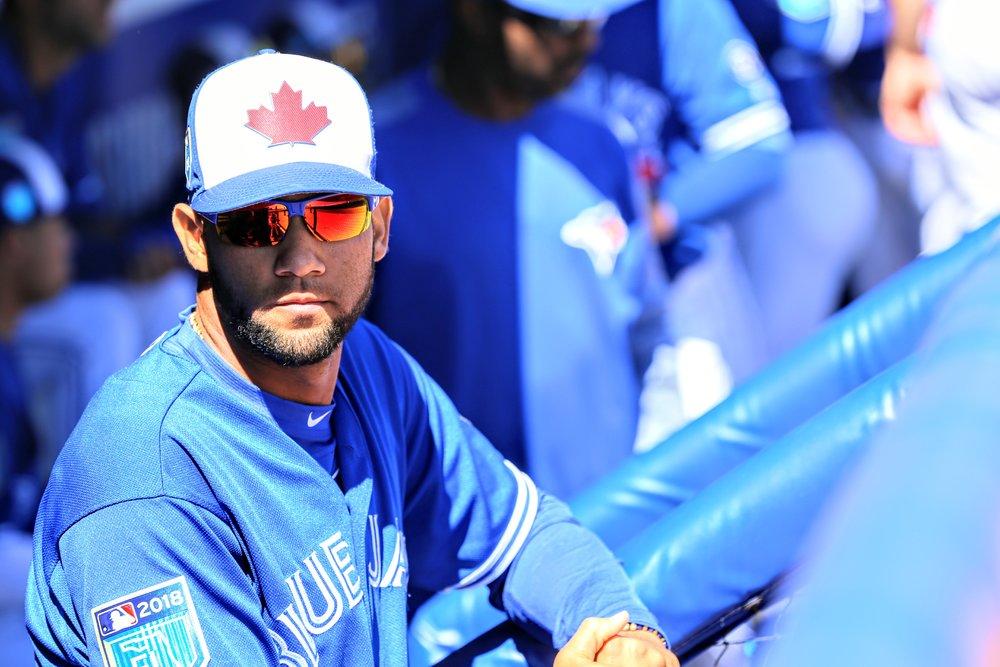 The Toronto Blue Jays called up infield prospect Lourdes Gurriel Jr. on Friday. Photo Credit: Amanda Fewer