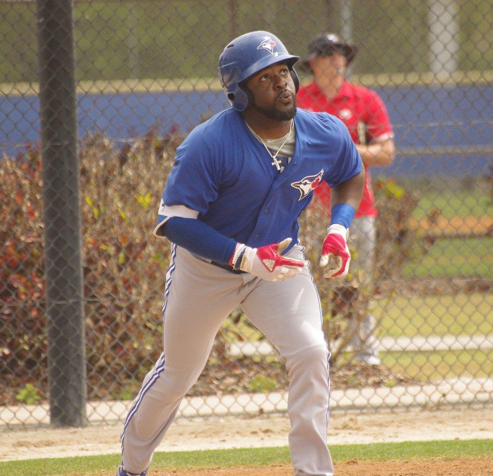 Dwight Smith Jr. had four hits for the triple-A Buffalo Bisons on Saturday. Photo Credit: Jay Blue