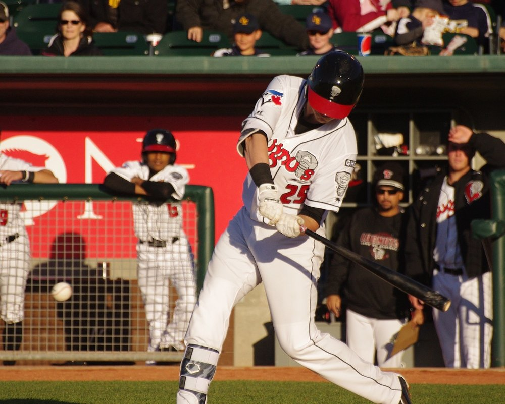 Christian Williams socked two home runs for low-A Lansing Lugnuts on Sunday. Photo Credit: Jay Blue