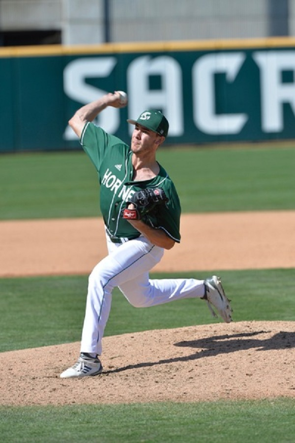 Former PBA Dawgs RP Tanner Dalton (Lethbridge, Alta.) picked up two saves for the Sacramento State Hornets.