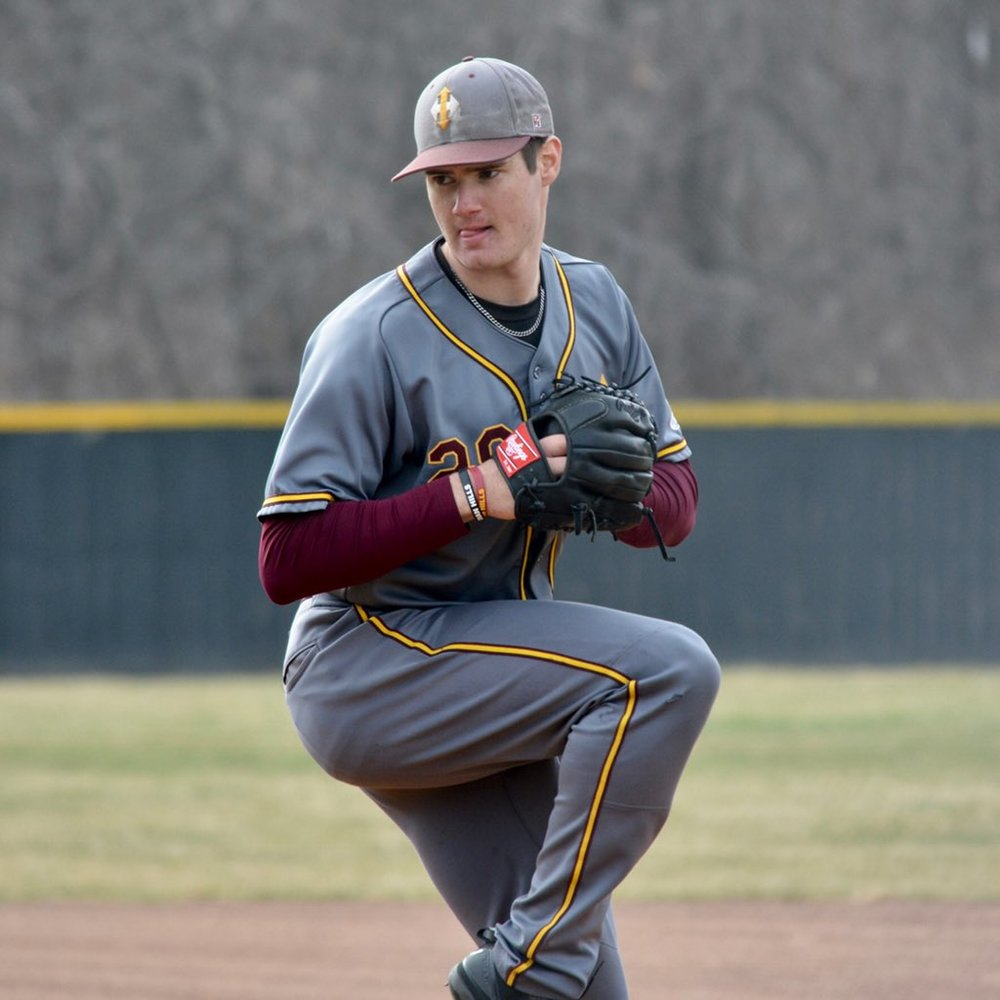 Ex-iCase Husky DJ Depiero (Thunder Bay, Ont.) pitchhed six innings for the Indian Hills Falcons allowing one run.