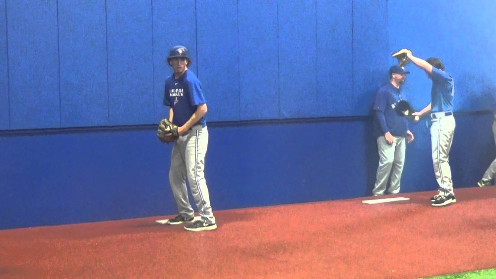 Ex-Ontario Blue Jay Taylor Lepard (Toronto, Ont.) put up two scoreless innings for the Dodge City Conquistadors.