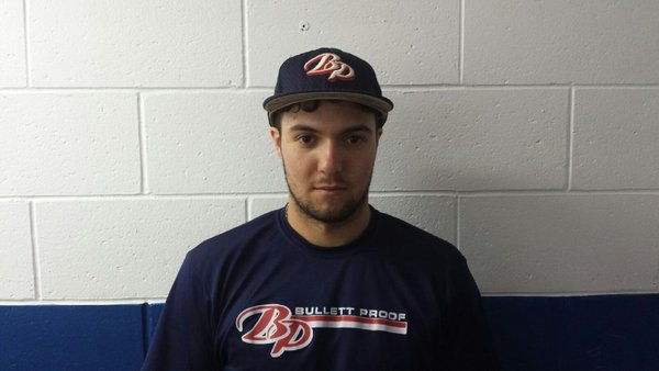 Former Bullett Proof Prospects Mason Falbo (Mississauga, Ont.) had six hhits for the Centre Colonels.