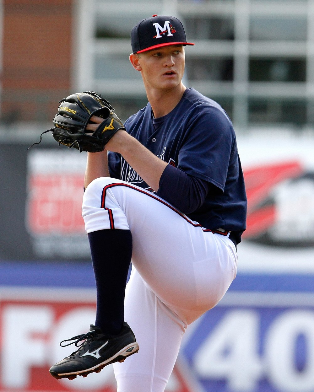 Former Calgary PBF Redbirds' RHP Mike Soroka (Calgary, Alta.) pitched a complete-game, seven-inning shutout for the Gwinett Stripers