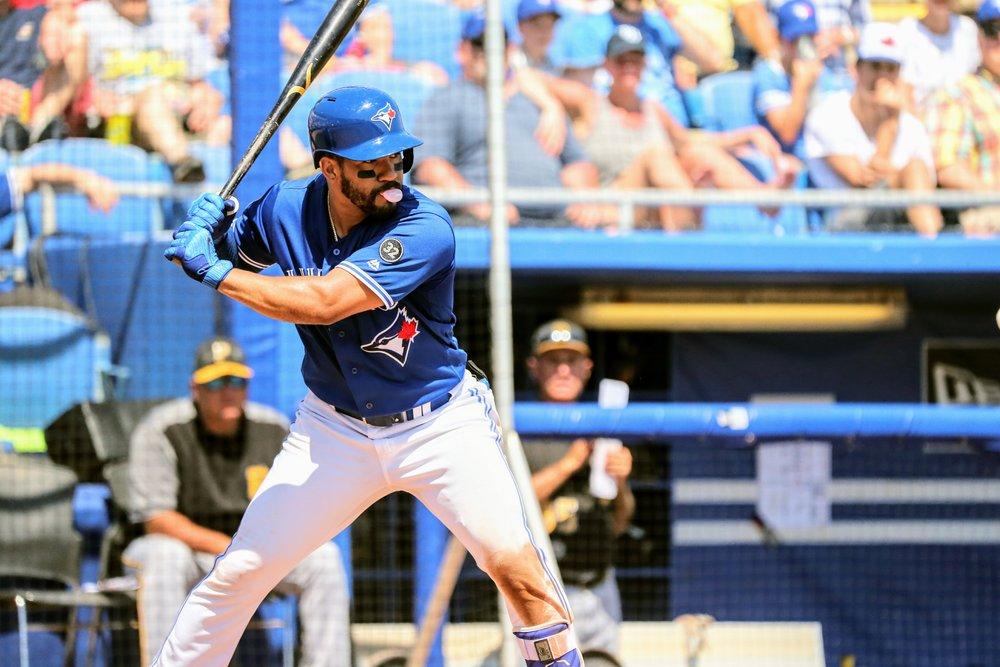 Struggling Toronto Blue Jays second baseman Devon Travis was sent down to triple-A Buffalo on Sunday. Photo Credit: Amanda Fewer