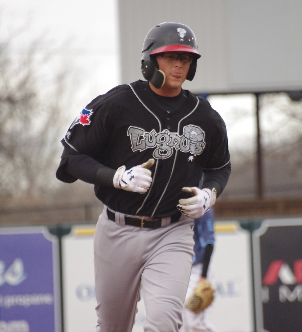 Kacy Clemens clubbed two home runs for the low-A Lansing Lugnuts on Saturday. Photo Credit: Jay Blue