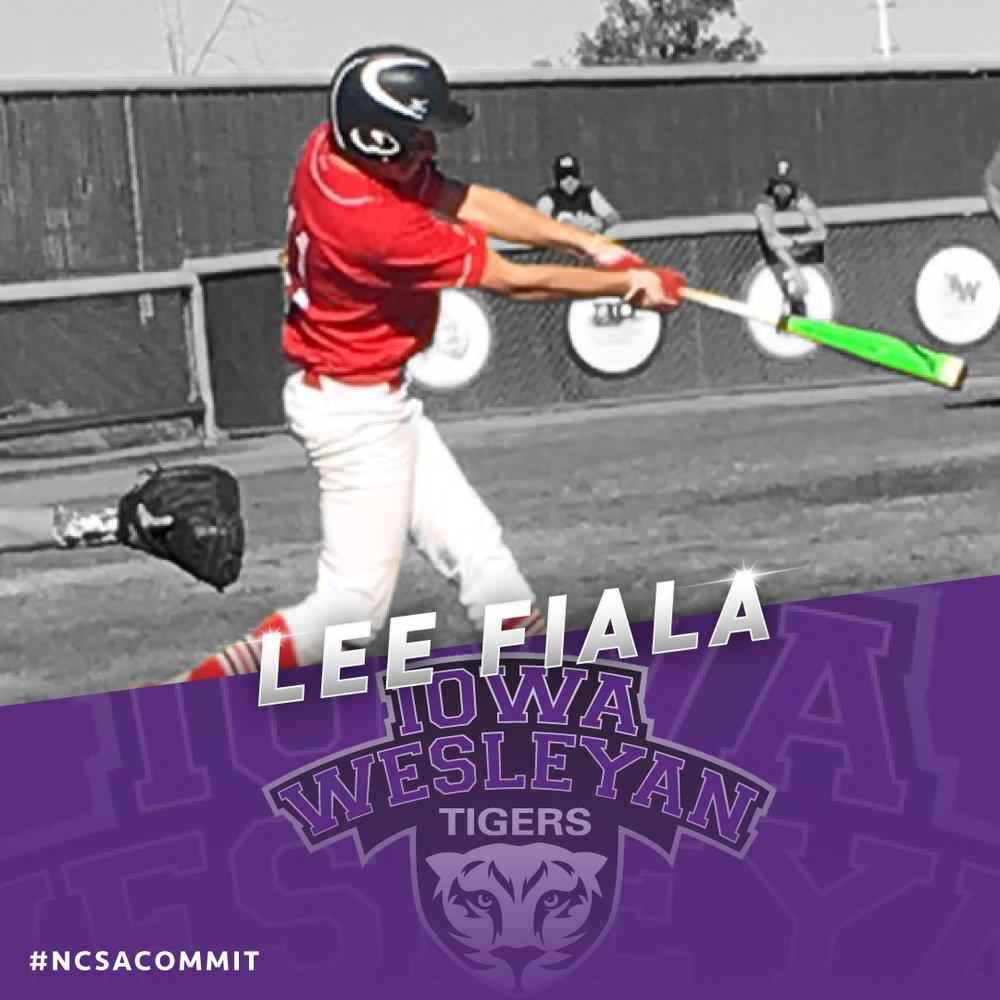 RBI Training Centre's graad Lee Falia (Regina, Sask.) had a strong week for Iowa Wesleyan.