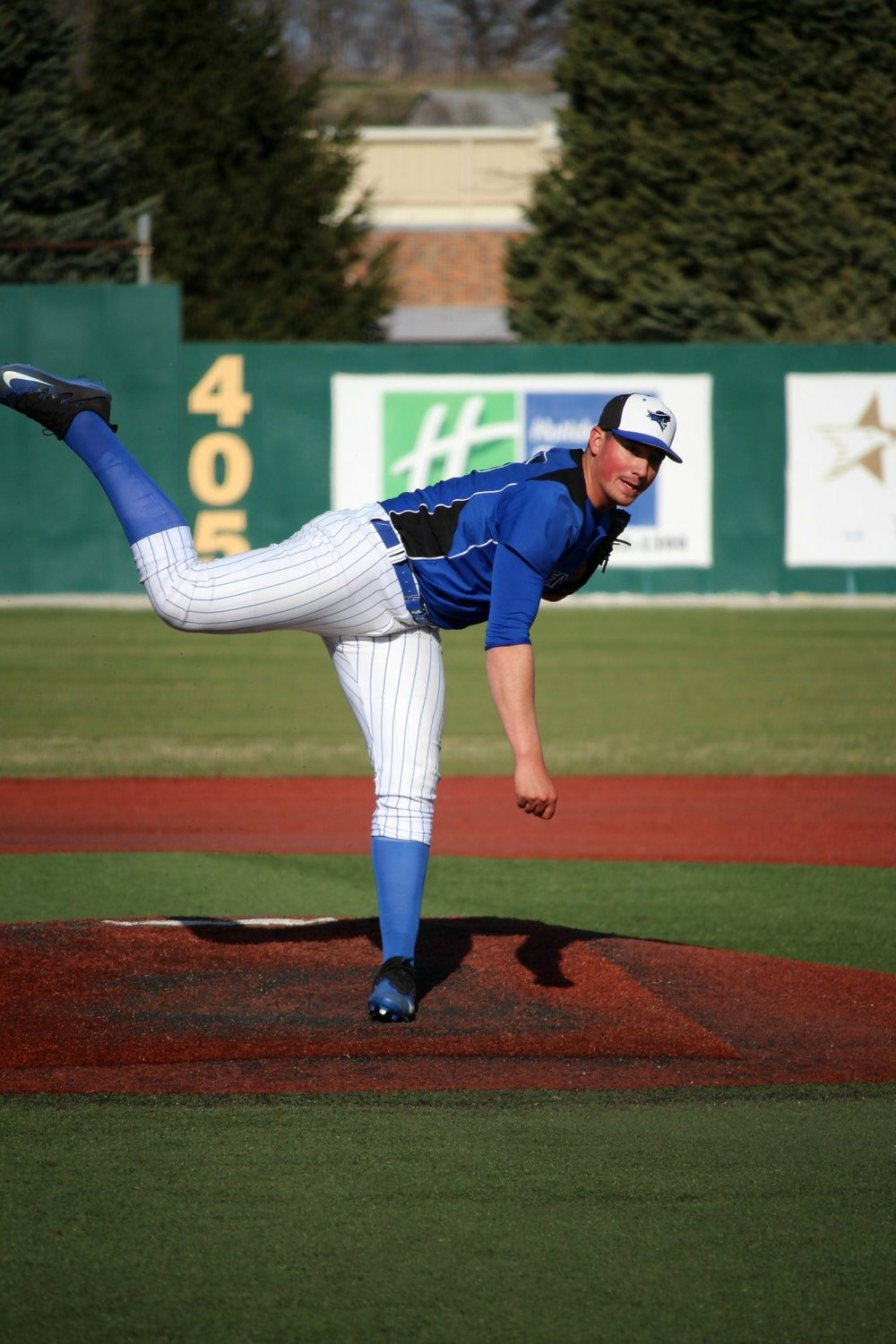 Right-hander Indigo Diaz (North Vancouver, B.C.), who's eligible for the 2018 MLB draft in June, has been dominant in his sophomore season at Iowa Western. Photo Credit: Michael DiStefano